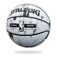 Basket-ball SPALDING Ballon de basket-ball NBA Marble Bw Outdoor - Noir et blanc - Taille 7