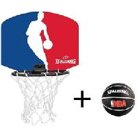 Basket-ball SPALDING Mini panier Logo NBA - ADNAuto