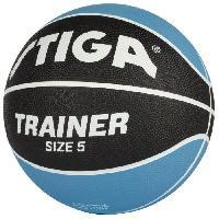 Basket-ball STIGA Ballon de basket-ball Trainer - Bleu et noir - Taille 5