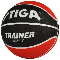 Basket-ball STIGA Ballon de basket-ball Trainer - Rouge et noir - Taille 7
