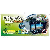 Bassin D'exterieur Kit filtration de bassin < 4000l - FiltraPure 4000