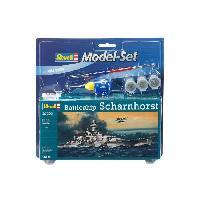 Bateau - Sous-marin A Construire Model-Set Battleship Scharnhorst - Maquette