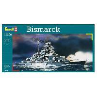 Bateau - Sous-marin A Construire REVELL Model-Set Bismarck - Maquette