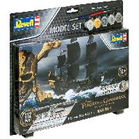 Bateau - Sous-marin A Construire REVELL Model Set Easy-Click Bateaux Black Pearl 65499