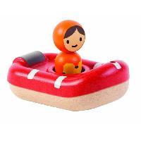 Bateau - Sous-marin Miniature PLAN TOYS Jeu en bois Mon bateau de sauvetage
