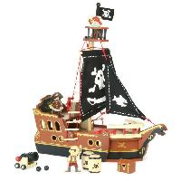 Bateau - Sous-marin Miniature VILAC O mon bateau pirate !