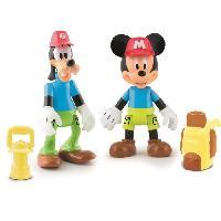 Bateau Miniature - Sous-marin Miniature MICKEY Pack De 2 Figurines Mickey & Dingo A L'Aventure - Imc Toys