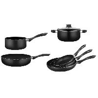 Batterie De Cuisine ARTHUR MARTIN -AM5148- Batterie 7 pieces tous feux dont induction