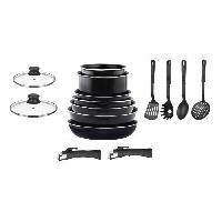 Batterie De Cuisine ARTHUR MARTIN AM8970 Set de Casseroles + Ustenciles de cuisine