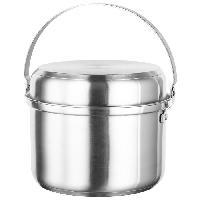 Batterie De Cuisine Batterie de cuisine Kamp 7 pieces - Gris