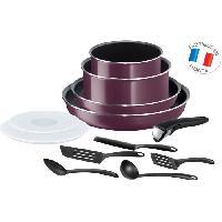 Batterie De Cuisine Ingenio Essential Violet Byzantium Batterie de cuisine 12 Pieces Tous Feux Sauf Induction L2019702 Tefal