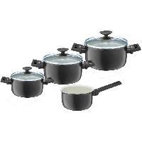 Batterie De Cuisine Set de 4 casseroles CLEVER Alu Special Elegance - D16202426 cm
