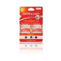 Batterie Photo - Optique 2 x batteries NP-BN1. NPBN1 pour SONY - MP EXTRA