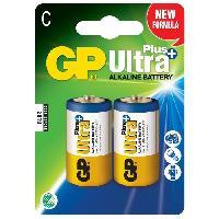 Batterie Photo - Optique GP 2 Piles Alcaline Ultra Plus LR14/C - 14AUP-2U4 - Gp Batteries