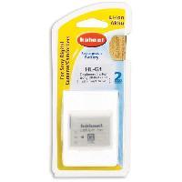 Batterie Photo - Optique HAHNEL HLG1 Batterie li-ion conçue pour les appareils photo numériques Sony utilisant une batterie NP-BG1/FG1