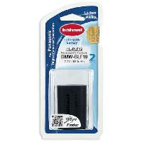 Batterie Photo - Optique HAHNEL HLPLF19 Batterie li-ion conçue pour les appareils photo numériques Panasonic utilisant une batterie DMW-BLF19E