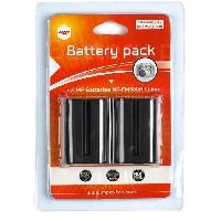 Batterie Photo - Optique MP-NP-FM500H Pack de 2 batteries NP-FM500H pour SONY