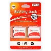 Batterie Photo - Optique MP-PACK-BAT-NB11L Pack de 2 batteries NB11L pour CANON