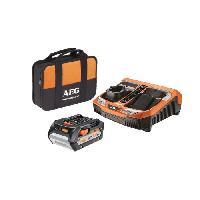 Batterie Pour Machine Outil AEG Batterie SETL1850BLK - 18 V - 5 Ah Li-ION - Avec chargeur