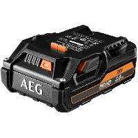 Batterie Pour Machine Outil AEG POWERTOOLS Batterie 18 Volts 3.0 Ah Li-ION (systeme GBS)