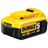 Batterie Pour Machine Outil DEWALT Batterie Li-ion XR - 18V - 5 Ah - Indicateur de charge