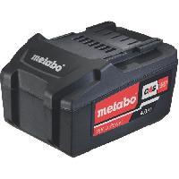 Batterie Pour Machine Outil METABO  Batterie 18 V. 4.0 Ah. Li-Power