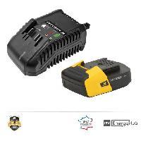 Batterie Pour Machine Outil PEUGEOT Chargeur + batterie 2.0Ah - Energyhub Peugeot Outillage