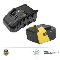 Batterie Pour Machine Outil PEUGEOT Chargeur + batterie 5.0Ah - Energyhub - Peugeot Outillage