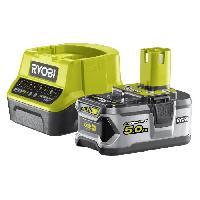 Batterie Pour Machine Outil RYOBI Batterie 18V 5Ah + Chargeur 2A