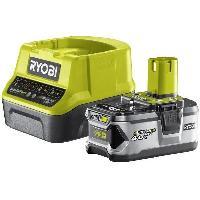 Batterie Pour Machine Outil RYOBI Pack chargeur & 1 batterie 18V 4.0 Ah lithium+