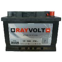 Batterie Vehicule Batterie auto RAYVOLT RV2B 53A 470A