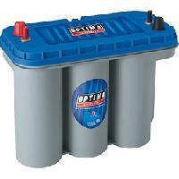 Batteries Batterie Optima Bluetop DC 5.5 - ADNAuto