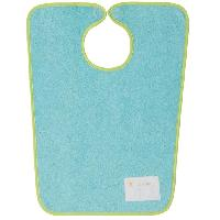 Bavoir BABYCALIN Bavoir Maternelle Je m'appelle - Bleu aqua - 37 x 47.5 cm