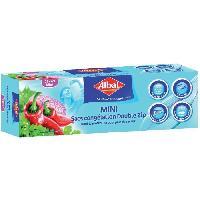 Beaute - Bien-etre ALBAL Sac congelation ultra zip - Boite de 25