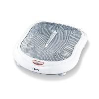 Beaute - Bien-etre Beurer Appareil de massage Shiatsu des pieds FM 60 50W Blanc et gris