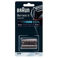 Beaute - Bien-etre Cassette piece de rechange - BRAUN 52B pour Series 5 rasoirs Noir