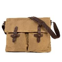 Besace - Sac Reporter KINSTON Grande Besace Machu Picchu - Pour PC portable - Bronze