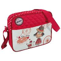Besace - Sac Reporter Petite besace Loulou pour fille - Rouge