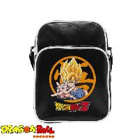 Besace - Sac Reporter Sac Besace Dragon Ball Z - Goku - Vinyle Petit Format - ABYstyle