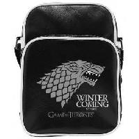 Besace - Sac Reporter Sac Besace Game Of Thrones - Stark - Vinyle Petit Format - ABYstyle