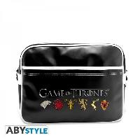Besace - Sac Reporter Sac Besace Game Of Thrones - sigles - ABYstyle