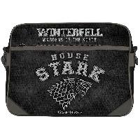 Besace - Sac Reporter Sac besace full print Game Of Thrones - Maison Stark - Vinyle - ABYstyle