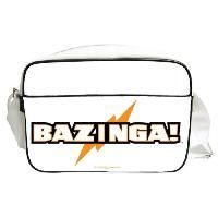 Besace - Sac Reporter THE BIG BANG THEORY Sac besace Bazinga en PVC