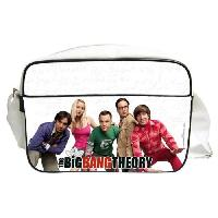 Besace - Sac Reporter THE BIG BANG THEORY Sac besace Personnages en PVC