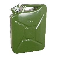 Bidons, Bouchons, Entonnoirs Jerrycan 20L metal vert TUVGS Generique