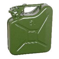 Bidons, Bouchons, Entonnoirs Jerrycan 5L metal vert TUV-GS