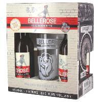 Biere Et Cidre BELLEROSE Coffret de 4 bieres + 1 verre - 4 x 33 cl