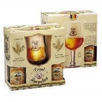 Biere Et Cidre BRASSERIE BOSTEELS Coffret Karmeliet 4 Bieres Blondes - 33 cl + 1 verre - Generique