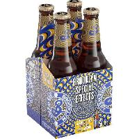 Biere Et Cidre Brooklyn - Special Effects - Hoppy Lager - Biere sans alcool - 33 cl x 4
