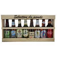 Biere Et Cidre Coffret Bieres Selection du monde - 8 x 33 cl